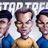 Caricature de Star Trek