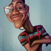 Caricature de Jaleel White