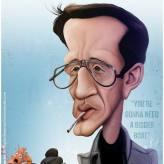 Caricature de Roy Scheider