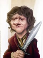 Caricature de Martin Freeman