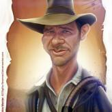 Caricature de Harrison Ford