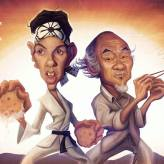 Caricature The Karate Kid