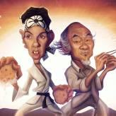Caricature The Karate Kid