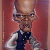 Caricature de Samuel L. Jackson