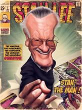 Caricature de Stan Lee