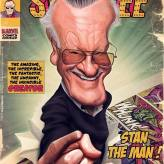 Caricature de Stan Lee