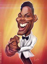 Caricature de Chris Rock