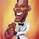 Caricature de Chris Rock