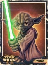 Caricature de Yoda