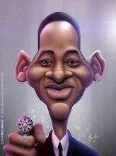 Caricature de Will Smith