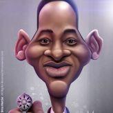 Caricature de Will Smith