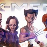 Caricature de X-men