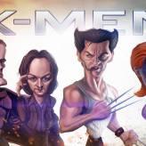 Caricature de X-men