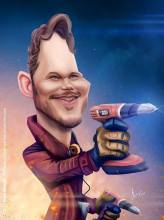 Caricature de Chris Pratt
