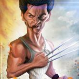 Caricature de Hugh Jackman
