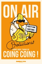 Création de personnage pour le studio d'enregistrement 3H Productions