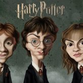 Caricature de Harry Potter