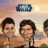 Caricature de Star Wars