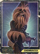 Caricature de Chewbacca