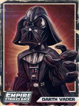 Caricature de Darth Vader