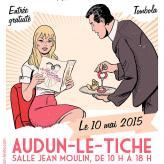"""Illustration pour affiche du salon """"Madame est servie"""""""