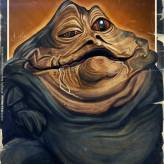 Caricature de Jabba The Hutt