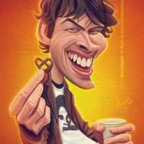 Caricature de Jason Lee