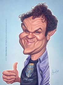 Caricature de John C Reilly