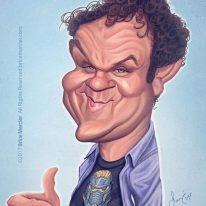 Caricature de John C Reilly
