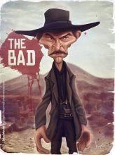 Caricature de Lee Van Cleef