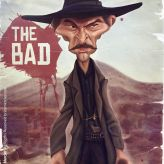 Caricature de Lee Van Cleef