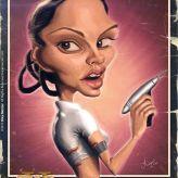 Caricature de Natalie Portman