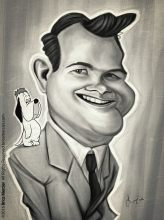 Caricature de Tex Avery